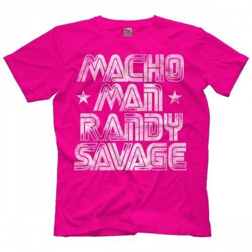 Mens WWE Legends Macho Man Authentic T-Shirt