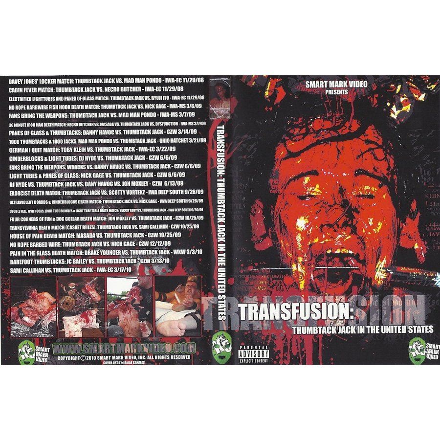 SMV DVD「Transfusion: THUMBTAC...
