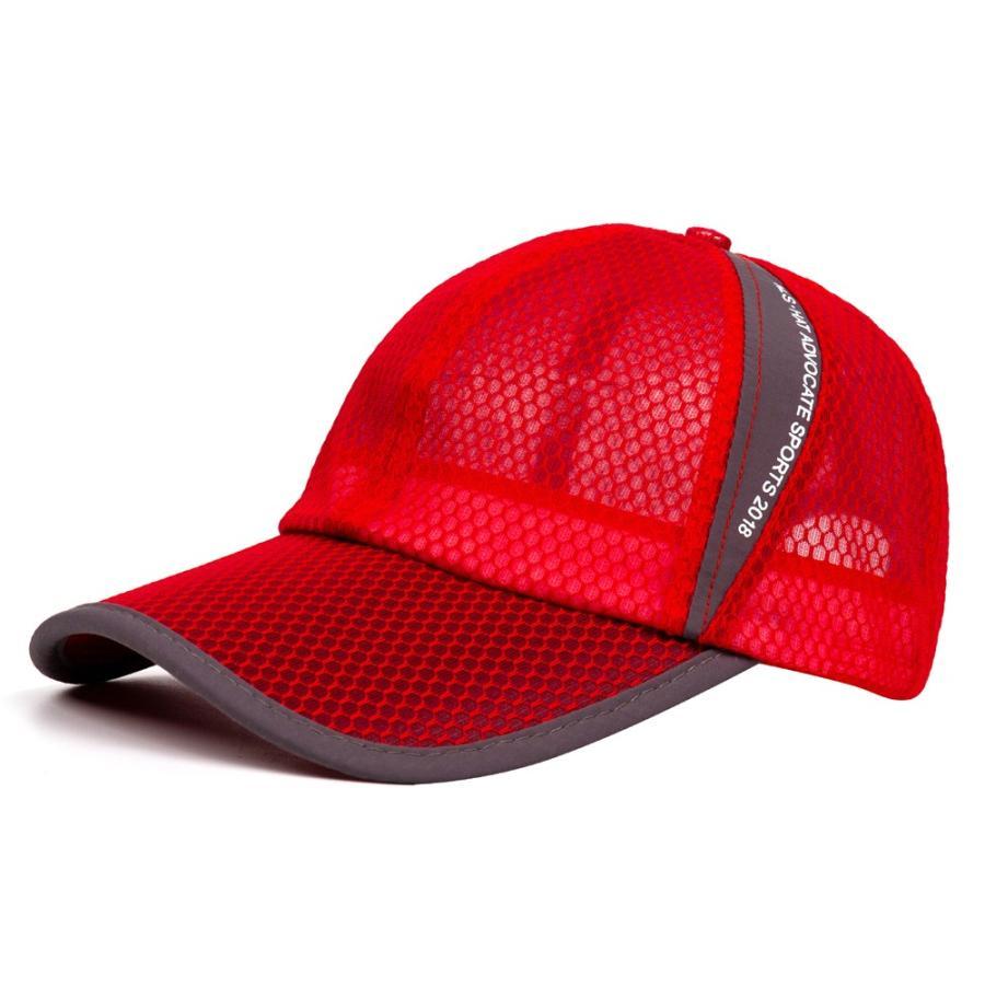 メッシュキャップ 帽子 キャップ ランニング ウォーキング ジョギング マラソン スポーツ UVカット 夏用 メンズ レディース フリーサイズ 10色|freeduck2|17