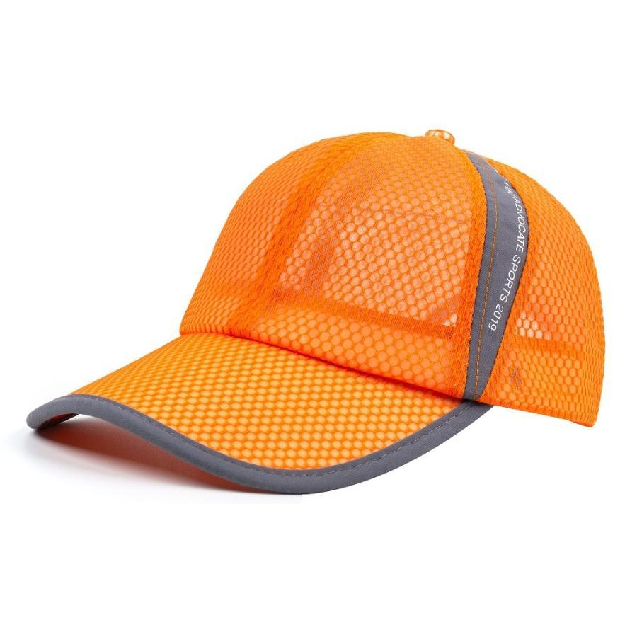 メッシュキャップ 帽子 キャップ ランニング ウォーキング ジョギング マラソン スポーツ UVカット 夏用 メンズ レディース フリーサイズ 10色|freeduck2|18