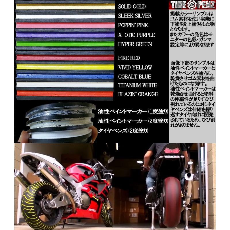 メール便送料無料 TIREPENZ タイヤペンズ PEN ペン単品 タイヤ専用ペイントマーカー タイヤペン  KEMEKO|freeline|04