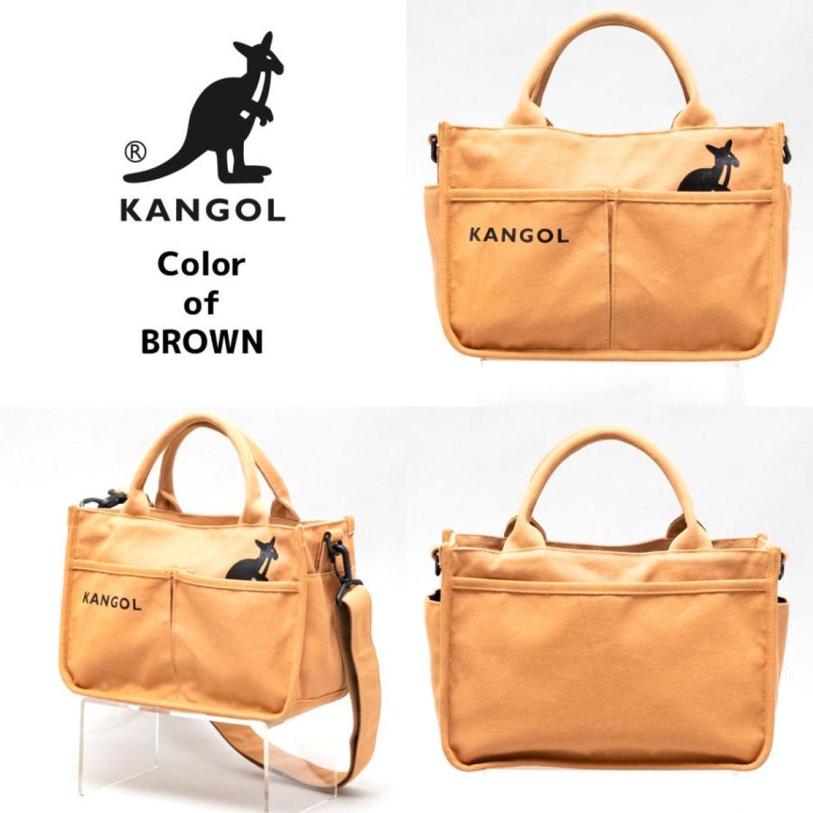 キャンバスミニトートバッグ ショルダーバッグ ハンドバッグ KANGOL 帆布生地 カンゴール(250-1493) 全4色 freesebe 03