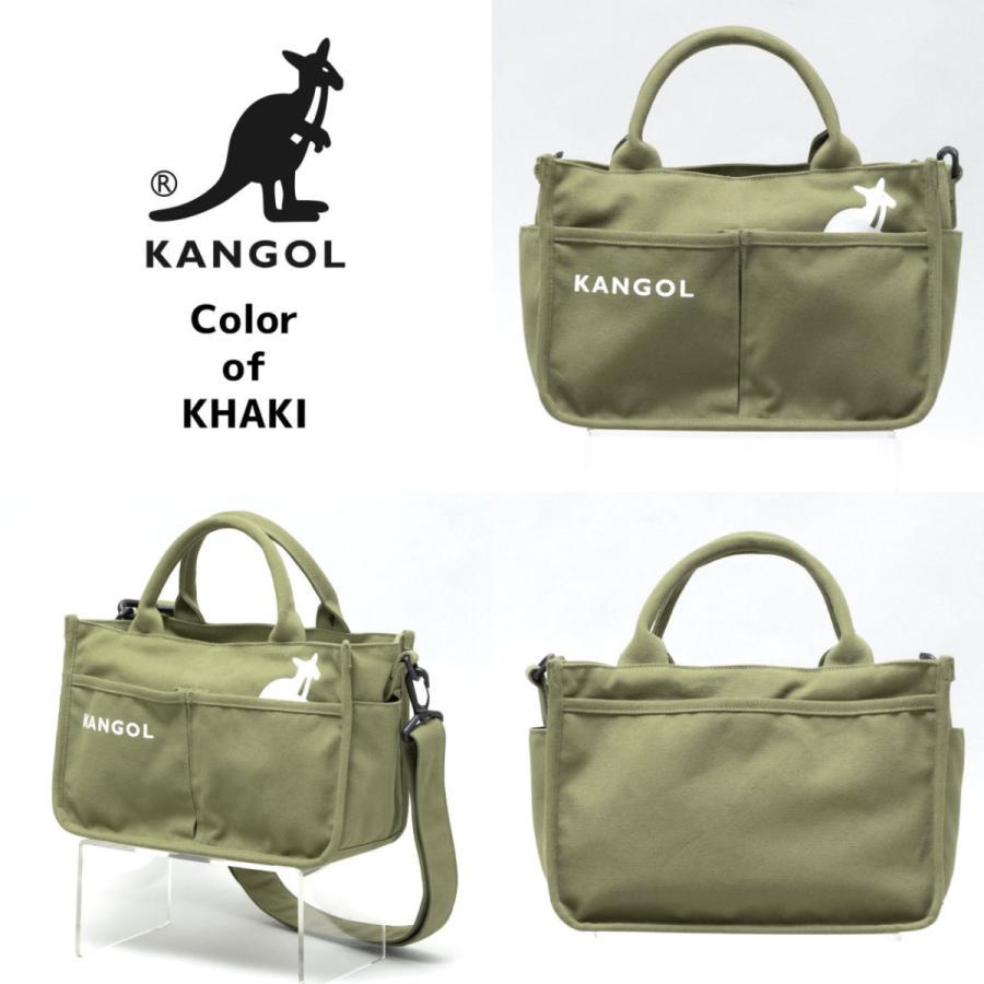 キャンバスミニトートバッグ ショルダーバッグ ハンドバッグ KANGOL 帆布生地 カンゴール(250-1493) 全4色 freesebe 05