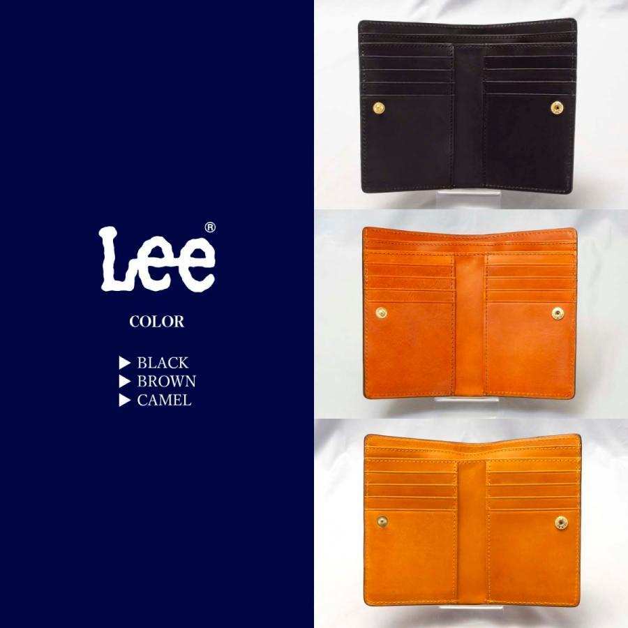 二つ折りカード入れ,二つ折り札入れ LEE(リーzolaシリーズ 320-1712) 全3色 freesebe 02