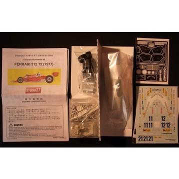 取寄せFR2006 スタジオ27 1/20 フェラーリ 312T2 77年