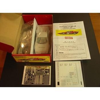 取寄せFR2407 スタジオ27 1/24 フェラーリ512BB LM N.A.R.T #87 LM'78