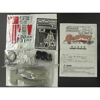 取寄せSV2006 スタジオ27 1/20 サンダーボルトSV01 西アメリカGP Multimedia Kit