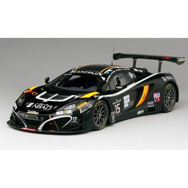 新品TSM151812R TrueScale 1/18 マクラーレン 12C GT3ブーツェン・ジニオン・レーシング2014#15 限定500台
