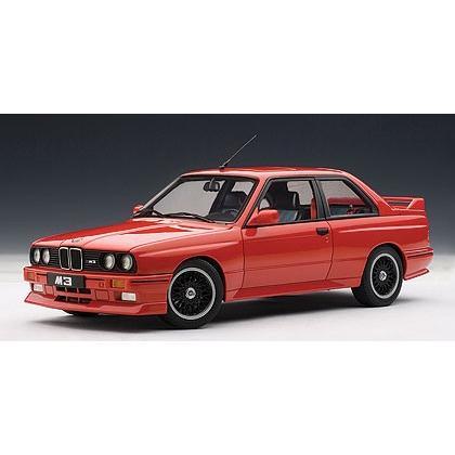 新品70566 オートアート 1/18 BMW M3 (E30) チェコットエディション (レッド)