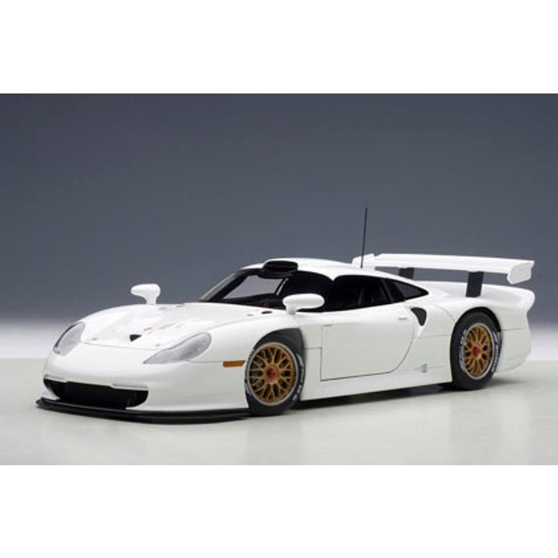 新品89771 オートアート1/18 ポルシェ 911 GT1 1997 プレーンボディ ホワイト