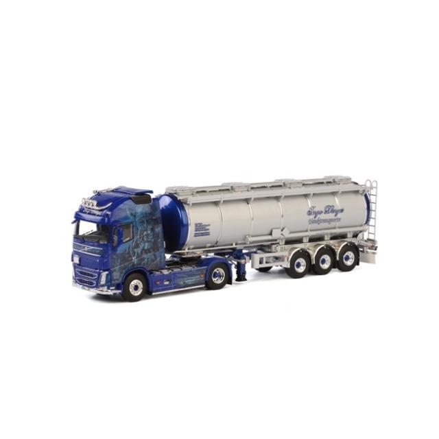 取寄せ 1/50 WSI 01-1551 Ingo Dinges Volvo FH4 GL XL Tanker Liquid (3 axle)