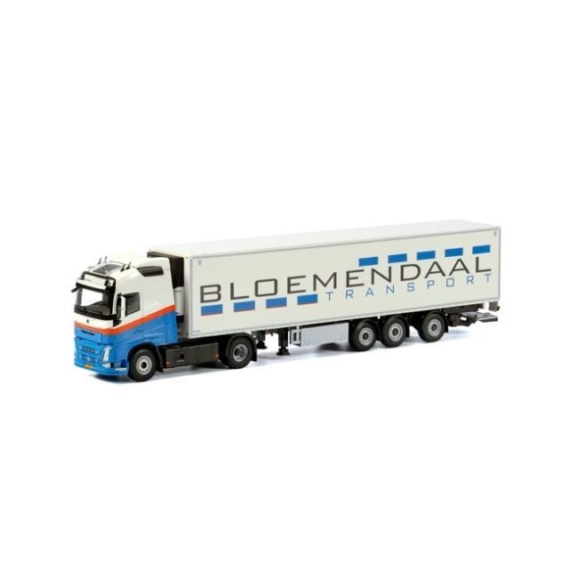 取寄せ 1/50 WSI 01-1732 Bloemendaal Volvo FH4 Globetrotter XL Reefer Trailer Carrier (3 axle)