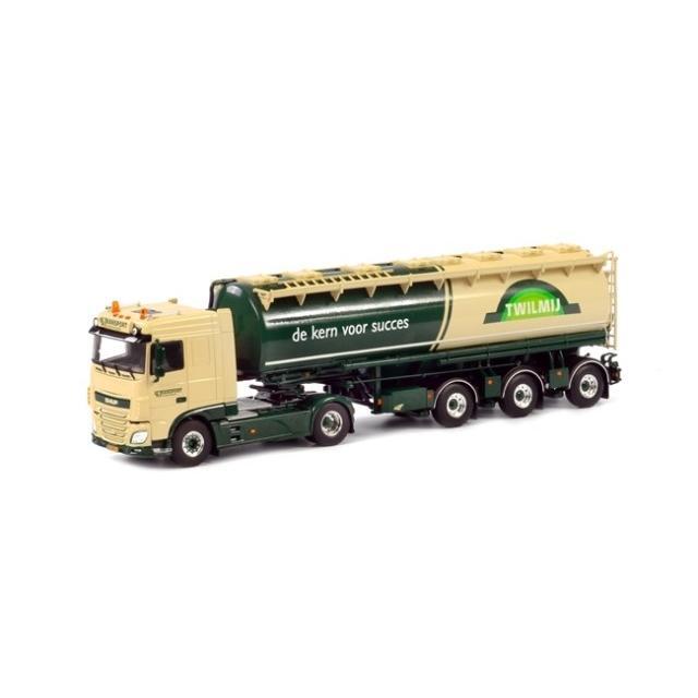 取寄せ 1/50 WSI 01-1756 MH Transport - Twilmij DAF XF SC Tanker Powder Welgro (3 axle)