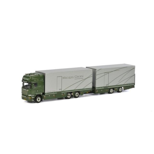 取寄せ 1/50 WSI 01-1894 Micquel Groen Scania R Streamline Topline Combi