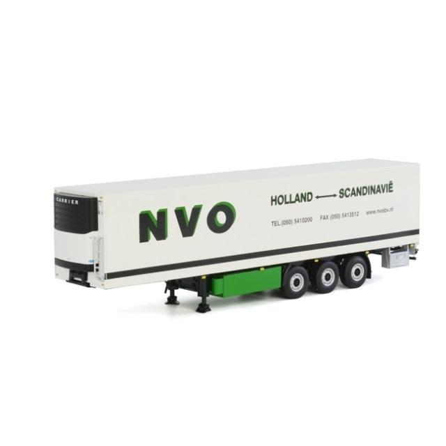 取寄せ 1/50 WSI 04-1130 NVO Reefer Trailer Carrier (3 axle)