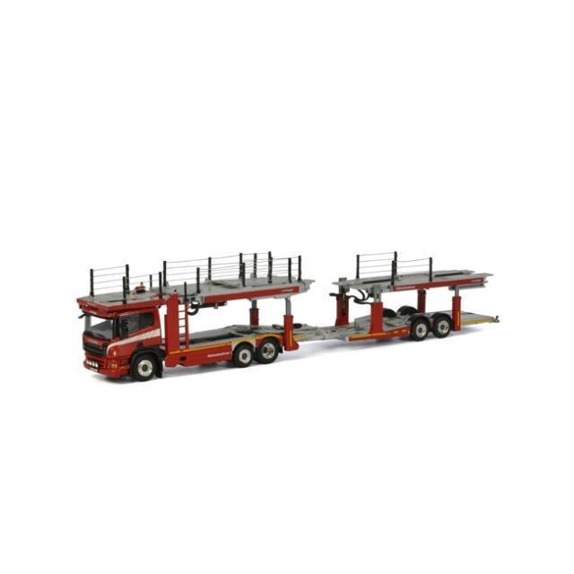 取寄せ 1/50 WSI 04-2004 WSI Premium line SCANIA P Cartransporter (3 + 2 axle)