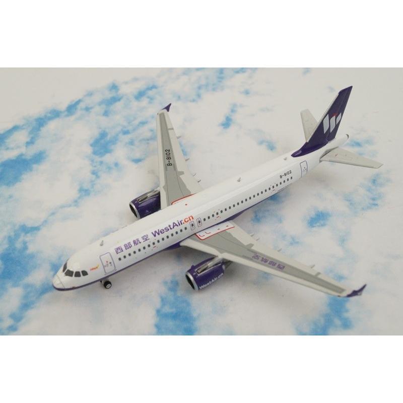 1/400 A320-200 西部航空 B-8102 [11292] フェニックス/中古