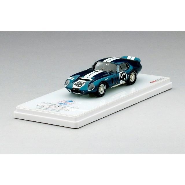 取寄せTSM154339 1/43 シェルビー・デイトナクーペ CSX2601 #48 アラン・マン・レーシング 1965 モンツァ1000Km 1st GTクラス B・ボンデュラント/A・グラント