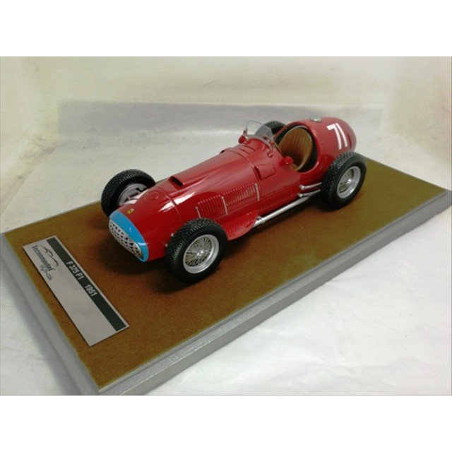 取寄せTM18-63E テクノモデル 1/18 フェラーリ 375 F1 ニュルブルクリンクGP 1951 優勝車 #71 A.Ascari