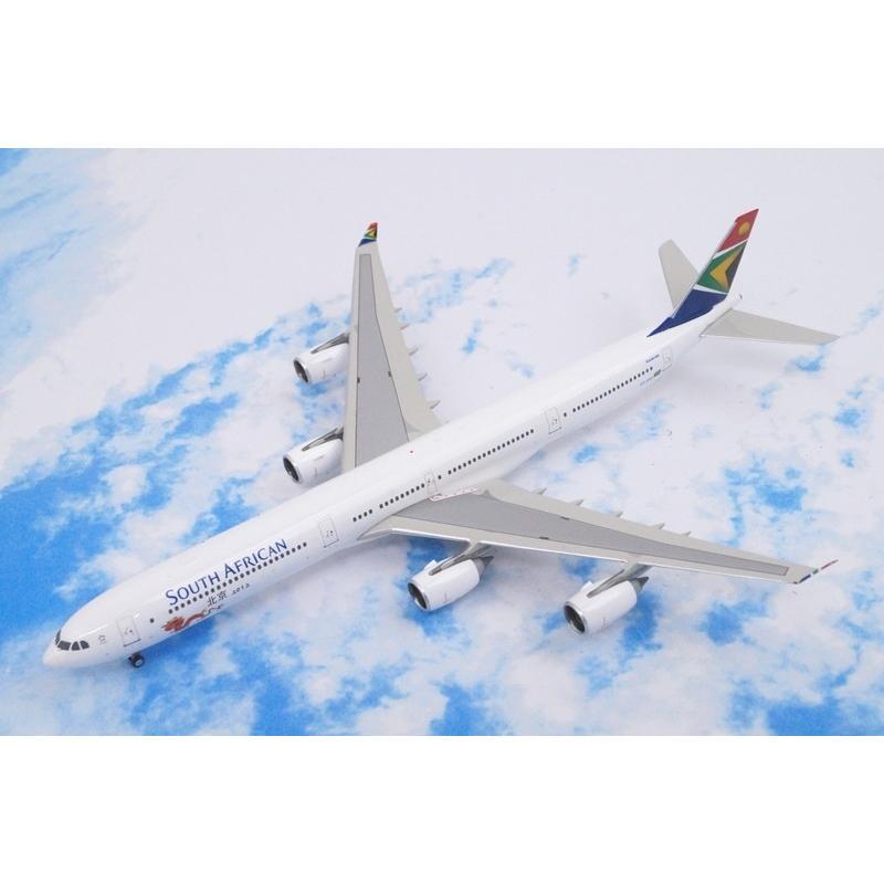 1/400 A340-600 サウスアフリカン 北京五輪2012ロゴ ZS-SNG [10598] フェニックス/中古