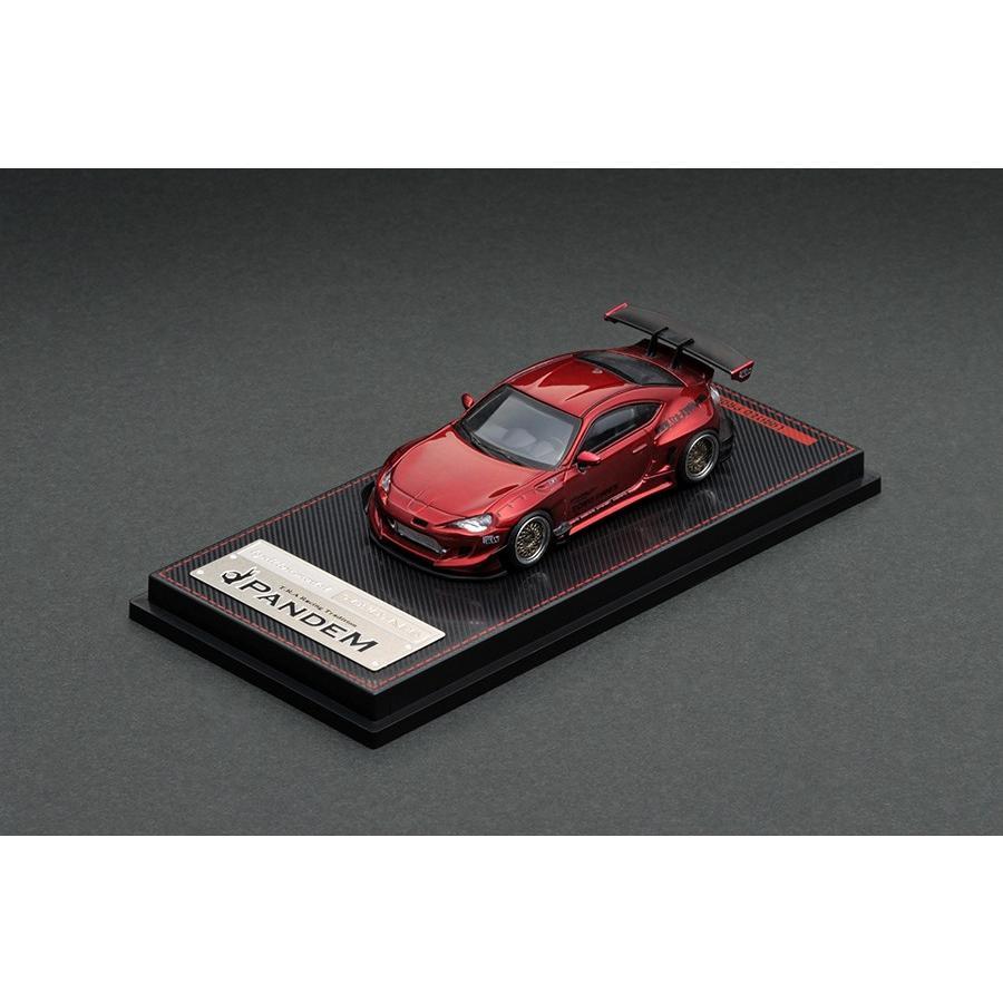 新品 IG1753 イグニッションモデル 1/64 トヨタ PANDEM 86 V3 Red Metallic ※仕様変更|freestyle-hobby