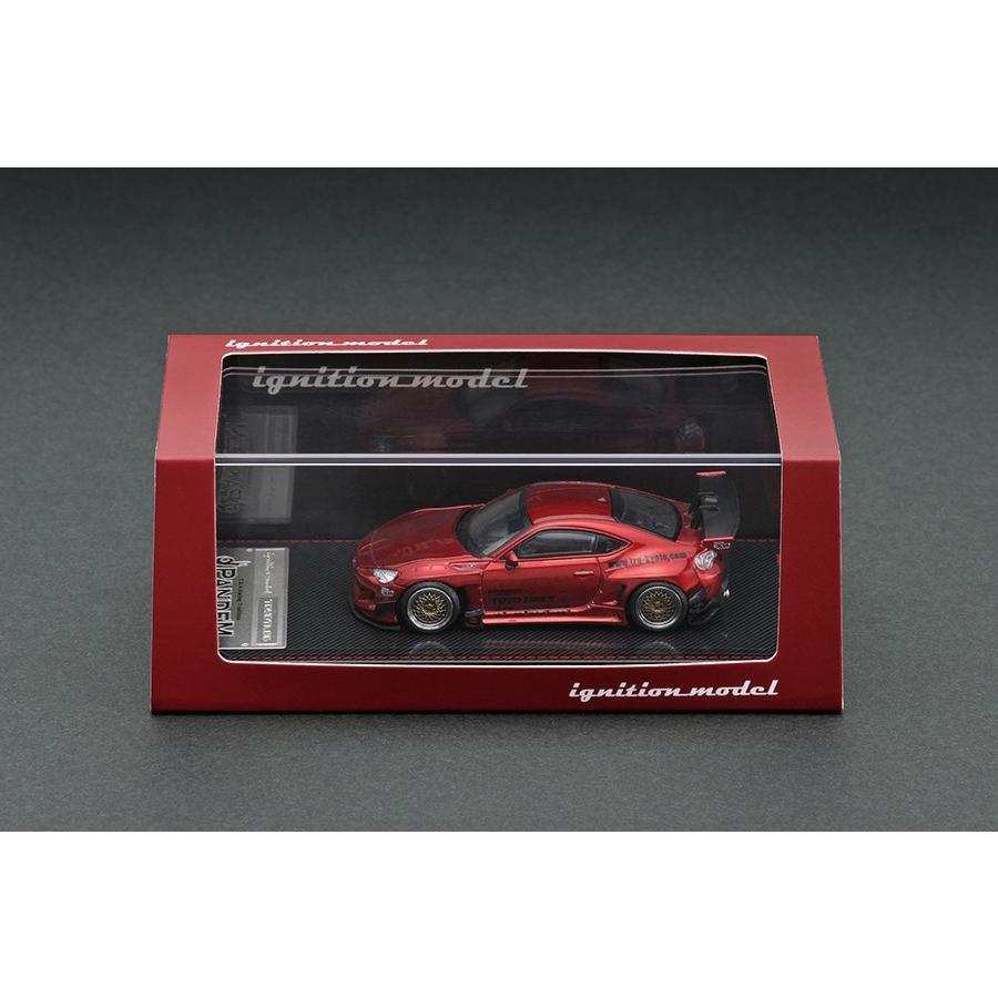 新品 IG1753 イグニッションモデル 1/64 トヨタ PANDEM 86 V3 Red Metallic ※仕様変更|freestyle-hobby|03