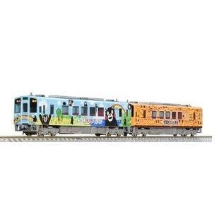 トミーテック 98062 肥薩おれんじ鉄道 HSOR-100形(くまモンラッピング1号・おれんじちゃん)セット