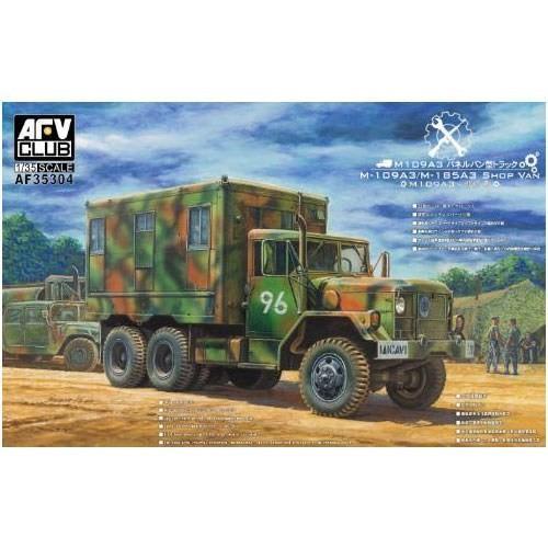 FV35304 AFVクラブ M109A3パネルバン型カーゴトラック GSI クレオス/新品