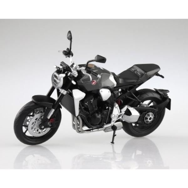 アオシマ 108178 1/12 完成品バイク ホンダ CB1000R ソードシルバーメタリック|freestyle-hobby