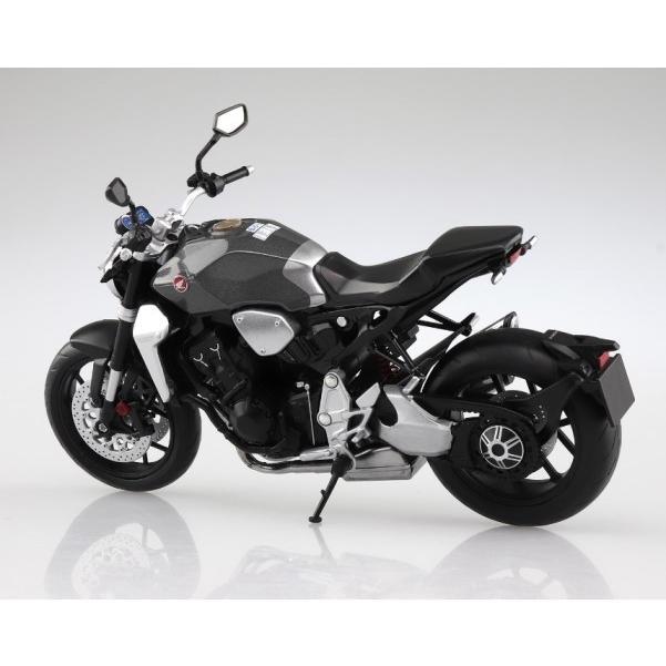 アオシマ 108178 1/12 完成品バイク ホンダ CB1000R ソードシルバーメタリック|freestyle-hobby|02