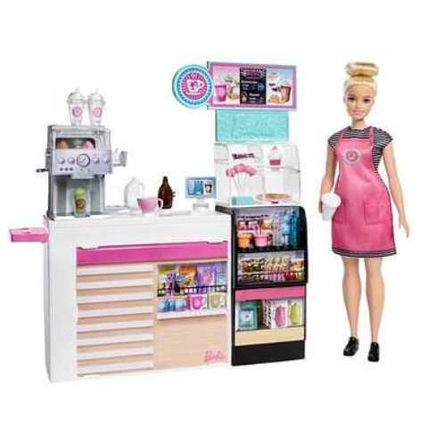 マテル GMW03 Barbie バービー コーヒーショップ|freestyle-hobby