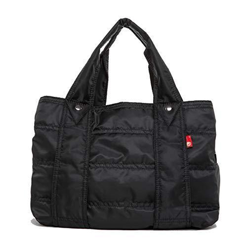 (ララゲン)lalagen トートバッグ レディース 軽量 軽い 旅行バッグ A4 大容量 バッグ Lサイズ 巾着付き ナイロン|freeyourself
