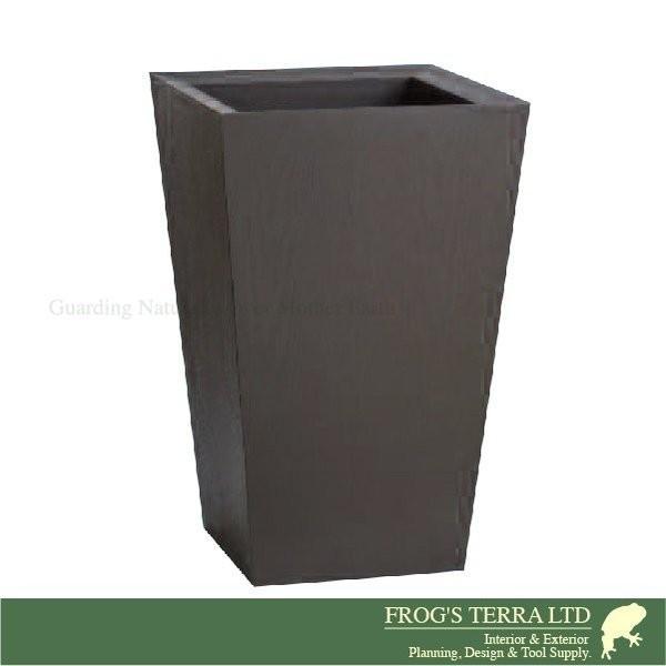 鉢カバー 木製 ウッドプランター XI-7-3(ロ45cm×H70cm)(底穴なし)(プランター/植木鉢/鉢/ポット)