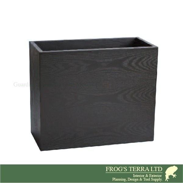 鉢カバー 木製 ウッドプランター XI-7-9(W60cm×D28cm×H50cm)(底穴なし)(プランター/植木鉢/鉢/ポット)