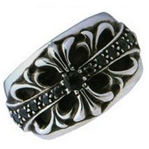 有名ブランド クロムハーツ With Chrome Hearts Ring フローラルクロスリングwith サファィア Floral Cross サファィア Ring With Sapphire, しあわせ牧場マルシェ:c9078821 --- airmodconsu.dominiotemporario.com