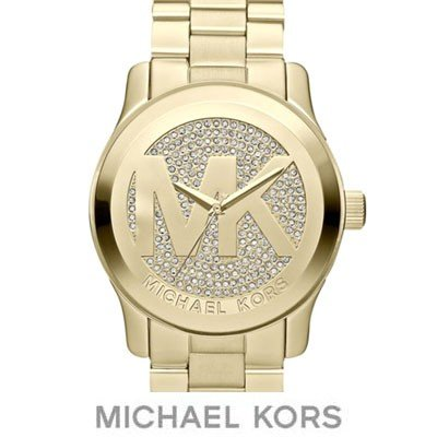 日本最級 マイケルコース レディース 腕時計 Runway Logo Dial Watch, 45.0mm ランウェイ ロゴ ダイアル 腕時計 (ゴールド)ウォッチ 海外通販, TシャツスポーツTtimeせとうち広告 e533c455