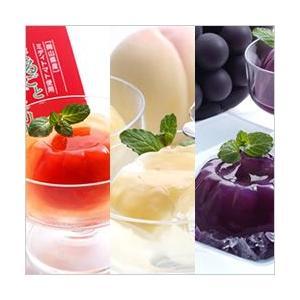 まるごと 完熟ミディトマトゼリー まるごと 清水白桃ゼリー まるごと ニューピオーネゼリー 各2個・計6個入り|fruits-enchante