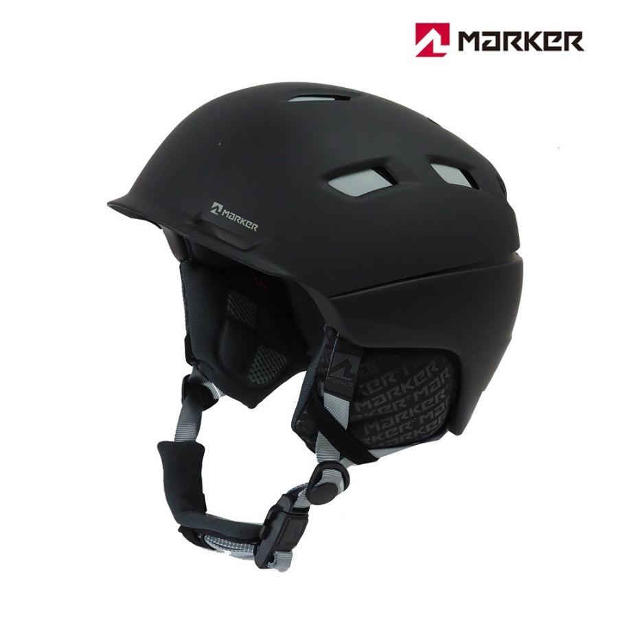 マーカーMARKERスノーヘルメット「AMPIRE MEN(アンパイアー)」2BLOCKブラック(Lサイズ)
