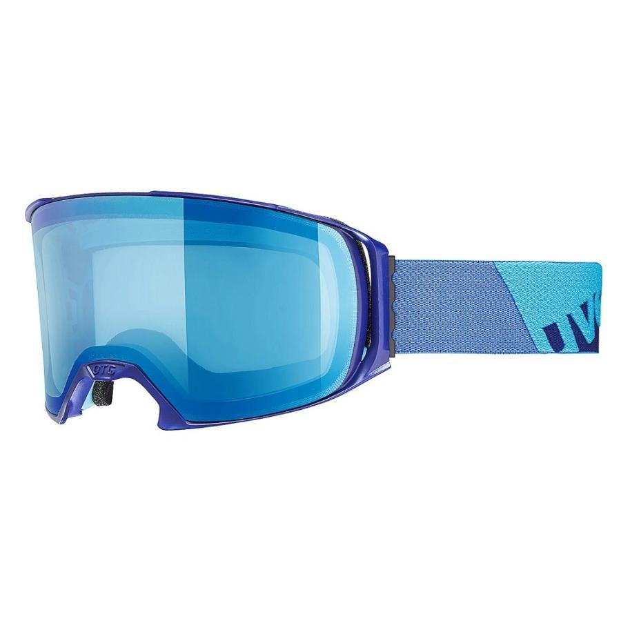 2018 UVEX(ウベックス)スキーゴーグル「uvex craxx OTG LTM」≪眼鏡メガネ対応≫インディゴマット5516294026