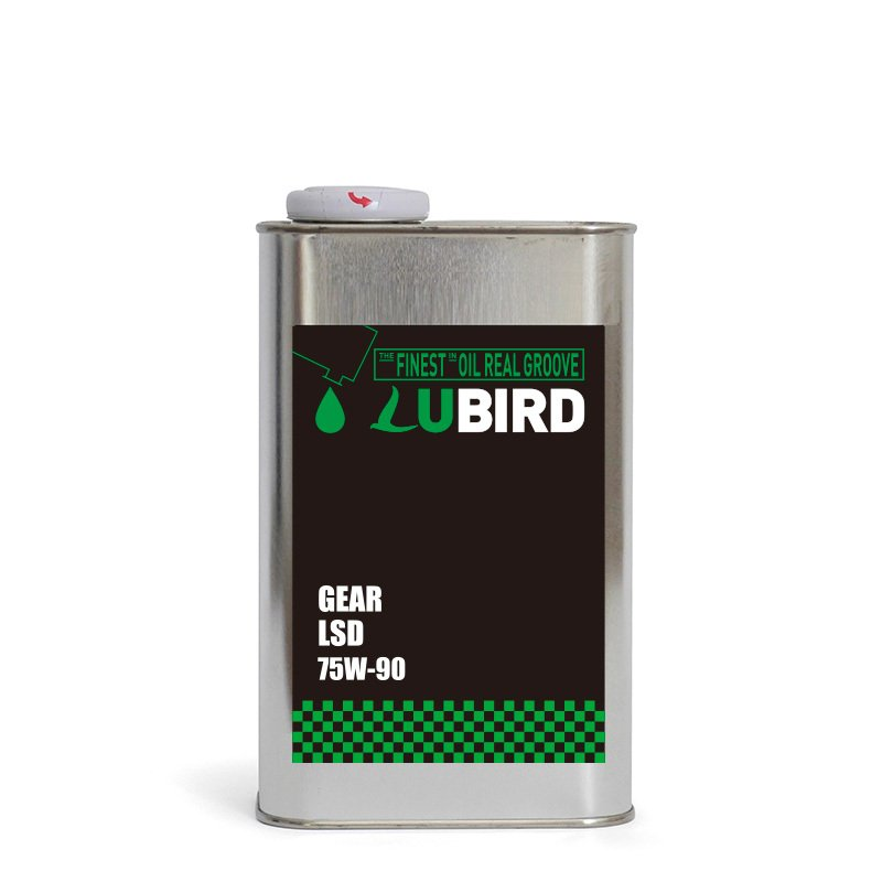 LUBIRD/ルバード GEAR LSD 粘度 (75W-90) 【1L缶】 ftk-oil-products