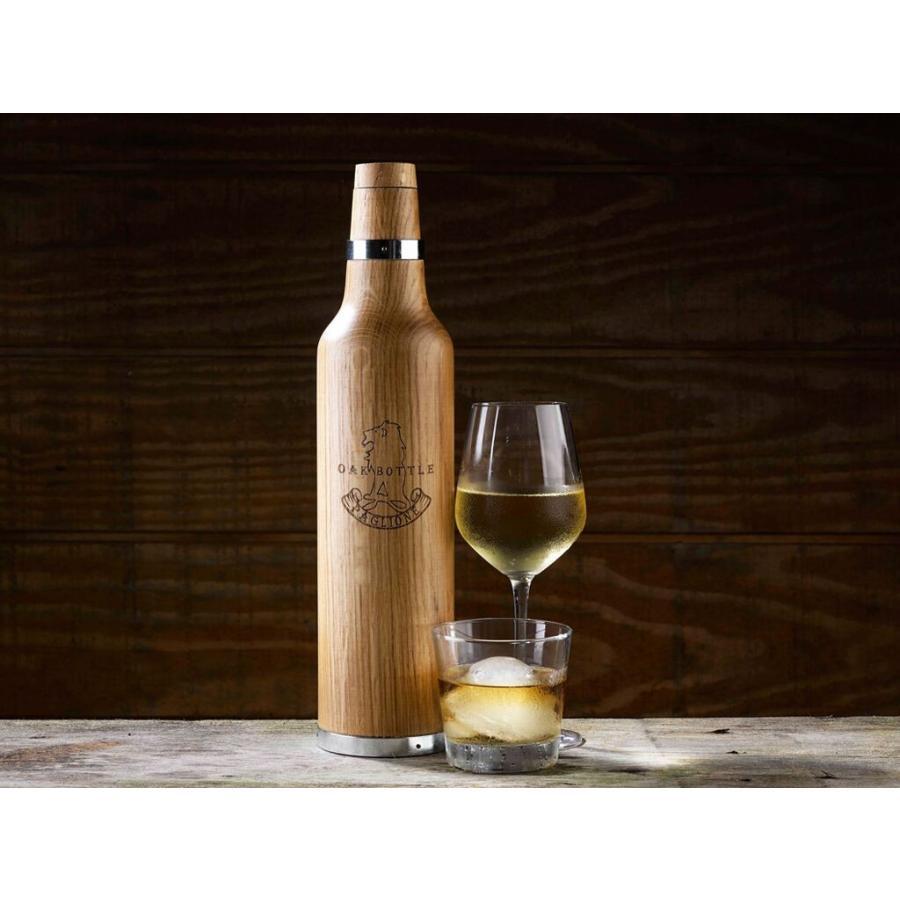 セラヴィ OAK BOTTLE(オークボトル)750ml CLV-298-L ワイン・ウイスキーの熟成が出来るボトル