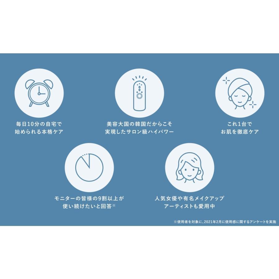 【9月20日(月)までポイントUP!】エルフェイス ELFACE ホームケア美顔器|ftk-tsutayaelectrics|05