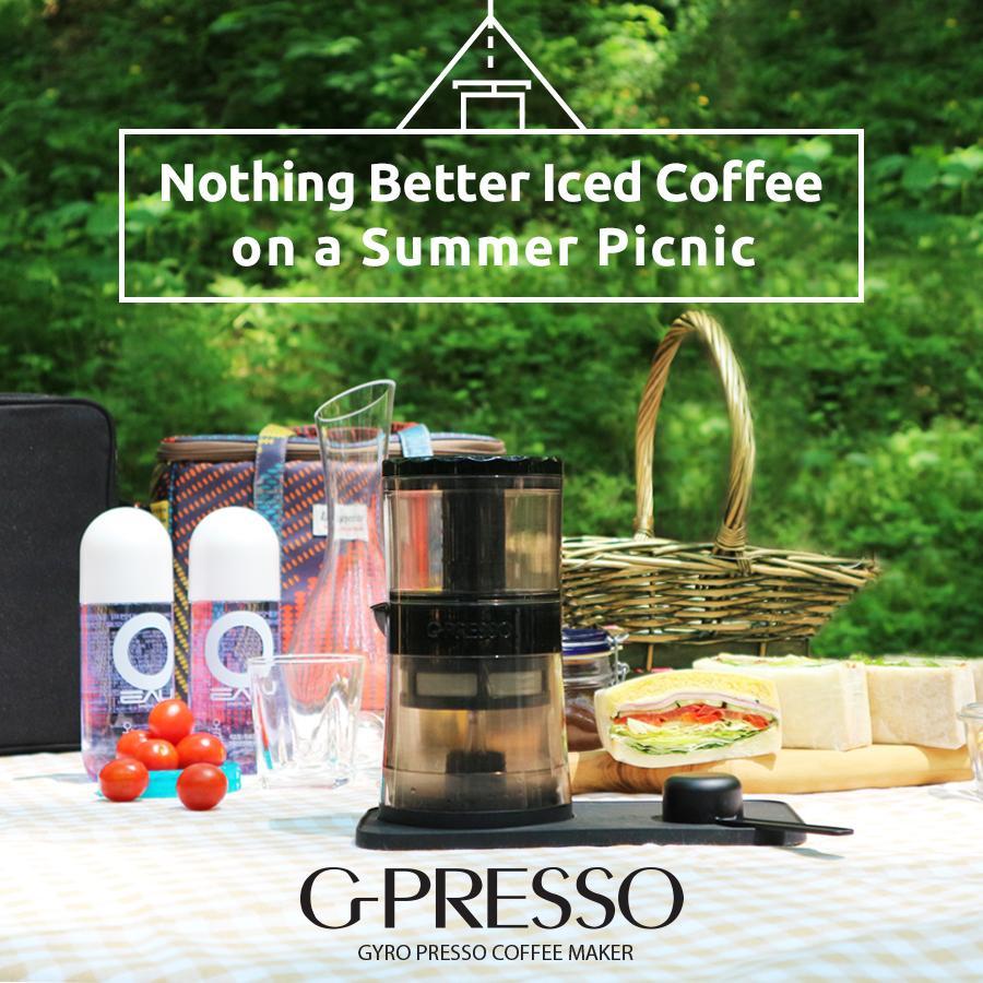 G-PRESSO ジャイロプレッソ 水出しコーヒーメーカー MEDIK MDK-GP01|ftk-tsutayaelectrics