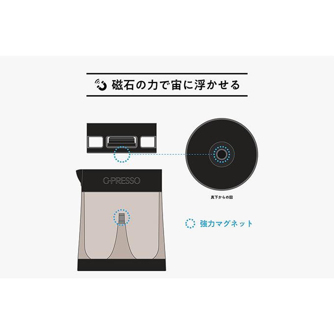 G-PRESSO ジャイロプレッソ 水出しコーヒーメーカー MEDIK MDK-GP01|ftk-tsutayaelectrics|07