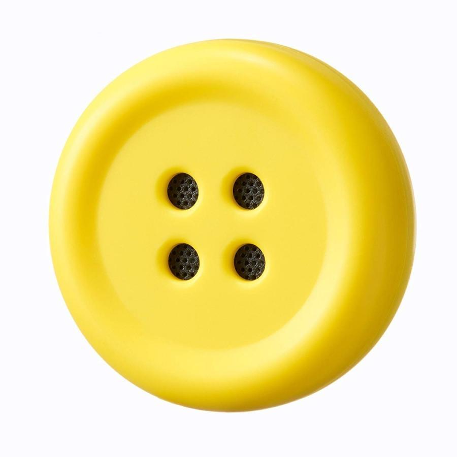 Pechat(ペチャット) ぬいぐるみをおしゃべりにするボタン型スピーカー イエロー|ftk-tsutayaelectrics|02