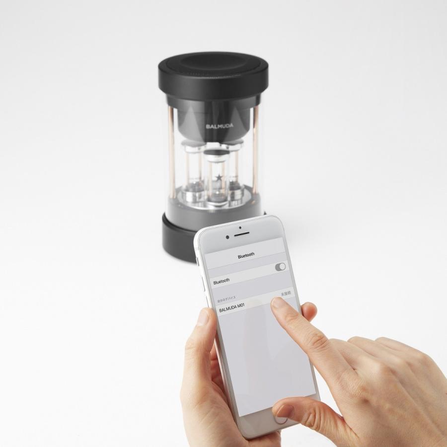 バルミューダ(BALMUDA) Bluetoothスピーカー バルミューダ ザ・スピーカーM01A-BK|ftk-tsutayaelectrics|08