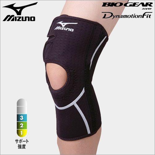 ミズノ MIZUNO バイオギアサポーター 膝用・左右兼用 50MS311 L