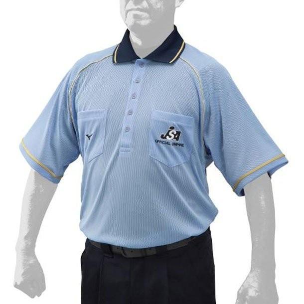 新着 MIZUNO ミズノ ソフトボール審判員用 12JC9X1319 お気に入り 半袖シャツ メンズ