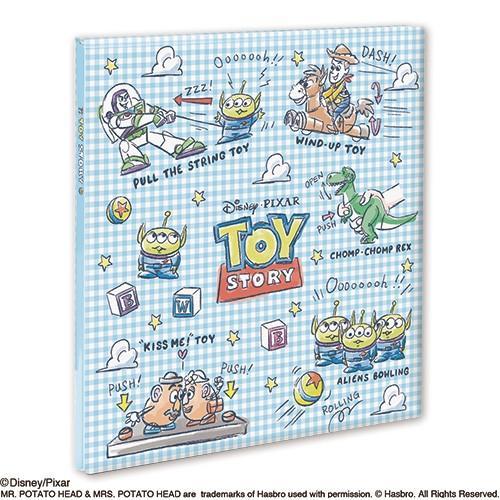 ナカバヤシ ディズニーキャラクター 販売実績No.1 Lサイズ フヤスアルバム ビス式 A-LF-1002 ストーリー 至高 白台紙10枚 トイ