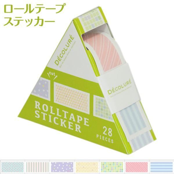 ナカバヤシ お値打ち価格で デコルーレ 新品 ロールテープステッカー RTPS-101-6 パターン